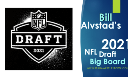 NWSeahawk's 2021 NFL Draft Big Board